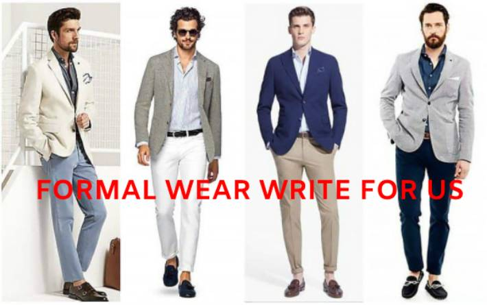 formal wear write for us