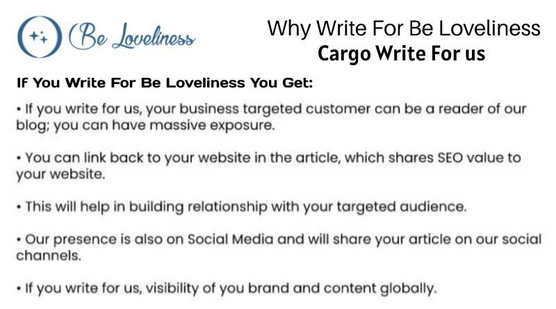 why write for cargo write for us