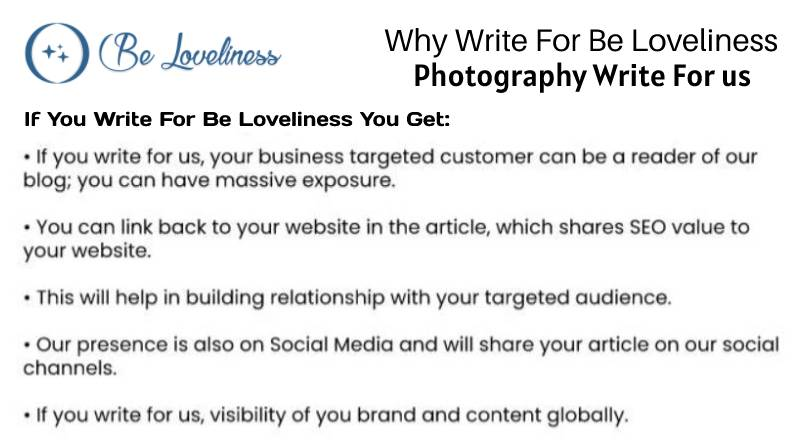 why write for us photography write for us